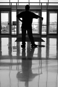 CleanGuard Janitor Service – commercial office cleaning with pride – it's always a job-well-done.